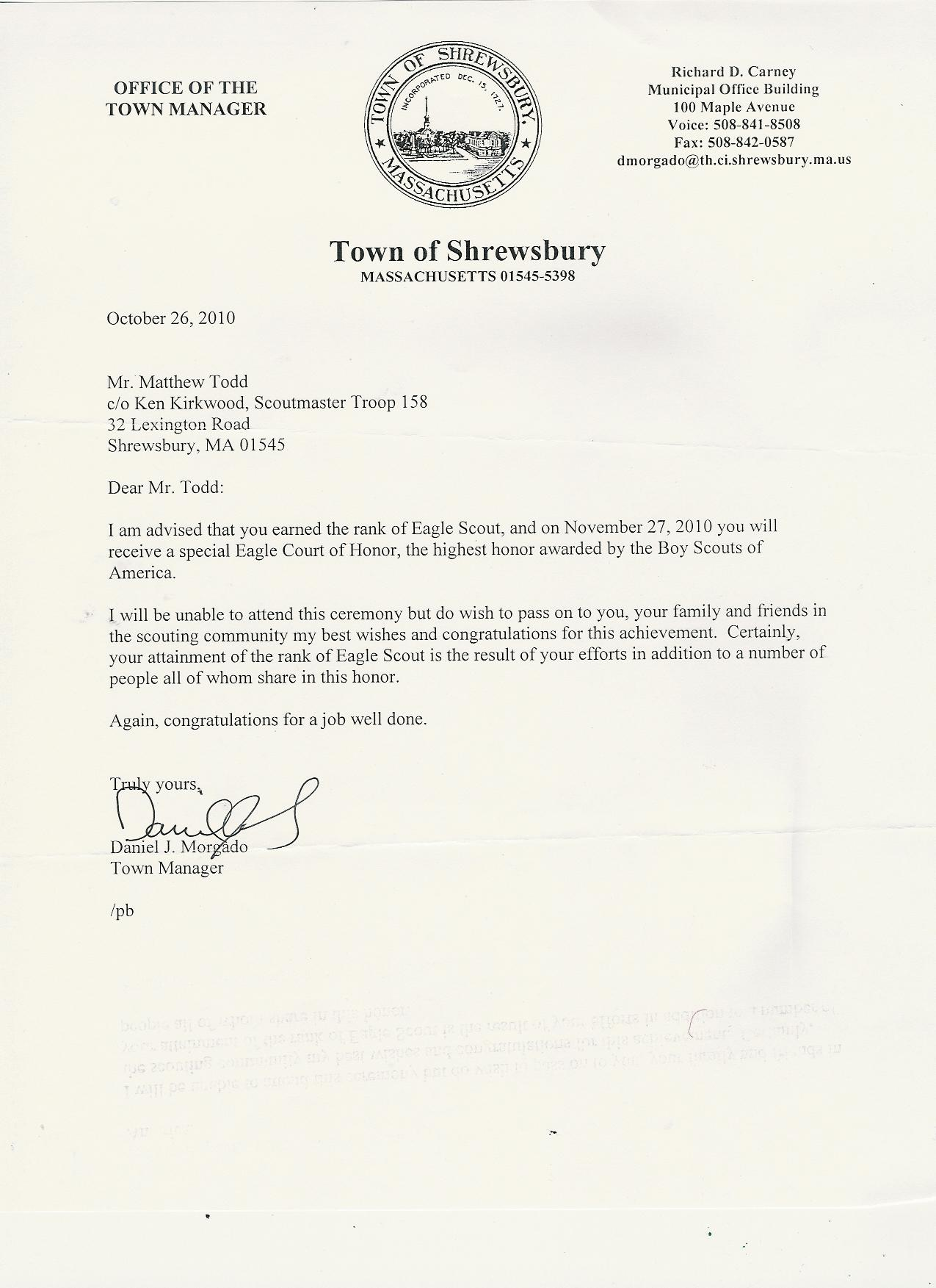 Information playground matthews eagle application and commendations a letter from shrewsbury town manager dan morgado spiritdancerdesigns Choice Image